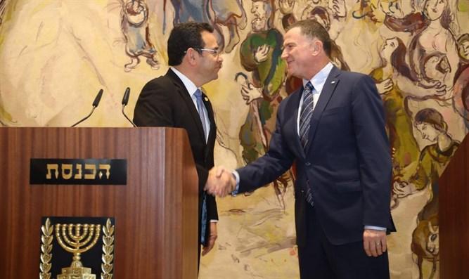 Le Guatemala va déplacer son ambassade en Israël à Jérusalem
